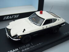 "1/43 Rai's NISSAN FAIRLADY Z ""TOKYO"" PATROL CAR 1970"