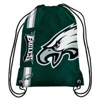 Philadelphia Eagles Drawstring Bag Backpack NFL Football License Gym Tote School