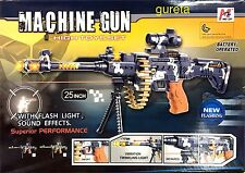COMBAT 3/ELECTRIC Machine Gun Toys With Light ,sound & Infrared Light 62cm Size