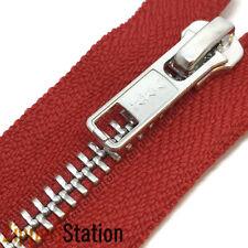 10 x Crema De Nylon #3 Autolock cremalleras-Extremo Cerrado Para Coser /& Crafts 16 longitudes