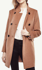 NWT Ann Taylor Wool Blend Luxe Collar Coat Size S