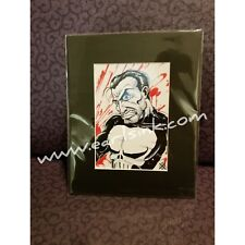 Punisher Art Print 5x7 in 8x10 matte by Earl Nixon