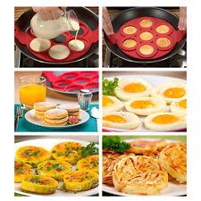 Moule Silicone 7 Blinis Pancakes Omelettes autres pour Cuisson à la Poêle Neuf