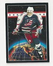 1994 Pinnacle Autographed Hockey Card Jamie Langenbrunner Team USA
