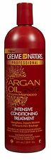 Creme of Nature Intensive Conditioning Treatment Argan Oil , 20 oz (2 pack)
