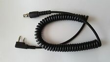 Headset Coiled Cord 2 Pin Kenwood Kelvar Reinforced Racing Radios Electronics