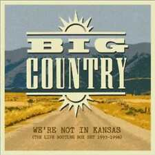 BIG COUNTRY - WE'RE NOT IN KANSAS: THE LIVE BOOTLEG BOX SET 1993-1998 * NEW CD