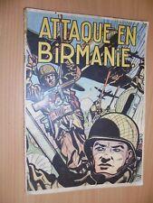 Buck Danny n° 6 Attaque en Birmanie reed de  1953