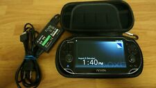Sony Playstation PS VITA PCH-1001 - 8GB Card, Case and Charger (3.73 Firmware)