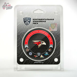 Avangard Omsk puck 13th season 20-21 HC Russian hockey club KHL Hawks