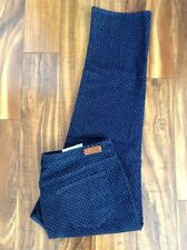 NWT! ABSOLUTELY GORGEOUS! Lands End Straight Leg Fit 2 Polka Dot DARK Jeans 18 P