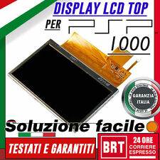 LCD DISPLAY ORIGINALE SONY PSP 1000 1001 1003 1004 FAT SCHERMO SHARP L0043 24H!
