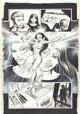 Convergence Suicide Squad #1 p.14 - Star Saphire Splash - 2015 by Tom Mandrake Comic Art