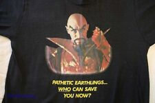 QUEEN EXTRA-RARE 'FLASH GORDON' SOUNDTRACK 'PATHETIC EARTHLING' 1980 PROMO TEE