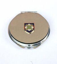 Scots Guard Regiment Compact Handbag Mirror Gift FREE ENGRAVING BGK5