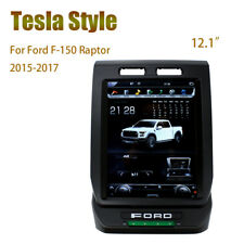 """12.1"""" Android Vertical Car Radios GPS Navigation for Ford F-150 Raptor 2015-2017"""