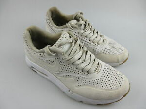 Women's NIKE 'Air Max Ultra Moire' Sz 6 US Shoes White VGCon | 3+ Extra 10% Off