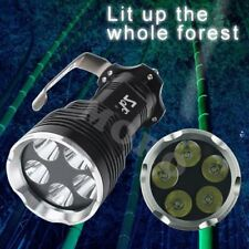 Waterproof CREE XM-L XML T6 LED 18650 Torch FlashLight Rechargeable Lamp 5 Modes