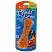 Hartz Chew N Clean Dental Duo Dog Chew Toy, Medium, Bacon Flavor