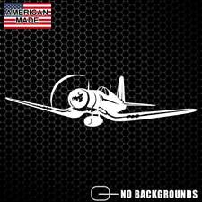 F-4U Corsair Airplane Sticker Decal Fighter Plane Air Force Vought WW2 Aircraft