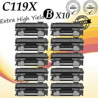 10PK CRG119 Black Laser Toner for Canon 119II LBP6300dn MF419dw MF414dw MF5950dw
