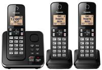Panasonic DECT 6.0 Cordless Home Phone 3 Handset Answering System Cert Refurbish