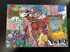 BACKJUMPS MAGAZINE 5 SHEK BERLIN TRAINS GRAFFITI WRITING OVERKILL XPLICIT 1 UP