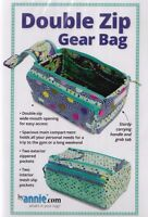 PATTERN - Double Zip Gear Bag - handy PATTERN - Patterns By Annie