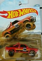HOT WHEELS 2019 SUBARU BRAT WALMART EXCLUSIVE OFF ROAD TRUCK SERIES fast ship!
