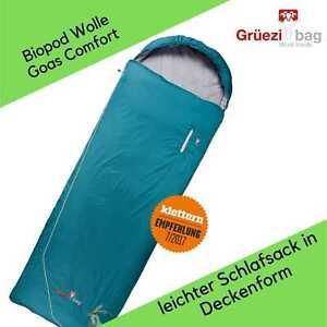 Grüezi Bag - Biopod Wolle Goas Comfort - Schlafsack