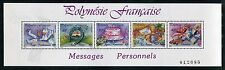 French Polynesia 518 MNH Messages 1989: Get well soon, Good luck, Happy x23755