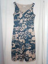 Kew for Jigsaw Floral / Scarf Print tea  Dress UK 10 Smart Party Casual  BP15