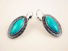 Turquoise Stone Earrings Gift for Birthday Charm Anniversary Special Mother Mum