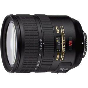 Near Mint! Nikon AF-S FX NIKKOR 24-120mm f/3.5-5.6G IF-ED VR - 1 year warranty