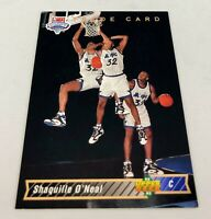 1992-93 Upper Deck Shaquille O'Neal Trade Card #1b RC Rookie HOF NM