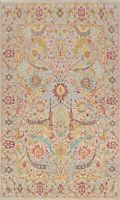 Floral Oushak Turkish Oriental Area Rug Wool Hand-Knotted Vegetable Dye 8x10 New