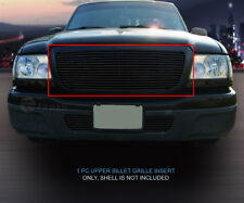 For 2004 2005 Ford Ranger Black Main Upper Billet Grille Grill