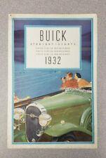 1932 Buick Straight-Eights Sales Folder