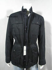 New BEN SHERMAN Military Utility/Field Dry Wax Coated Padded Jacket Black sz XL