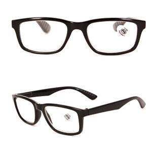Spring Hinges Reading Glasses Rectangular Readers + 1.0 1.5 2.0 2.5 3.0 3.5 D41