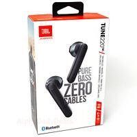 NEW JBL Tune 220 TWS True Wireless Earbud Headphones Black