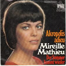 45 T SP MIREILLE MATHIEU *AKROPOLIS ADIEU*  (MADE IN GERMANY)