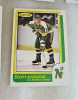1986-87 O-Pee-Chee #23 Scott Bjugstad Rookie Card! RC Minnesota North Stars OPC