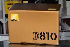 Nikon D810 Reflex Boitier Nu Neuf