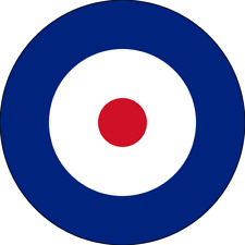 British RAF Roundel (Type A) Exterior Vinyl Model Military Plane Aircraft Decal