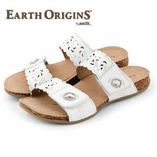 8127fbec12413 Earth Leather Casual Sandals   Flip Flops for Women
