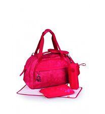 okiedog Sakawa Shuttle Nappy/ Diaper Bag Red 28286
