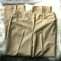 Zac & Rachel womens career pants size 10 tan