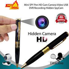 Mini DV DVR Hidden Spy HD Pen Video Camera Recorder 1280*960 Spy Camcorder Cam #