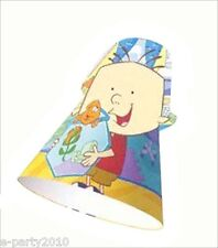 STANLEY CONE HATS (8) ~ Birthday Party Supplies Favors Paper Disney Junior Show